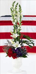 American Arrangement by Cremation Funeral Flowers.com