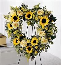 Forever Heart by Cremation Funeral Flowers.com