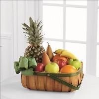 Thoughtful Gesture Fruit Basket by Cremation Funeral Flowers.com