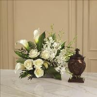 At Peace Arrangement by Cremation Funeral Flowers.com