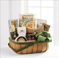 Heartfelt Sympathies Gourmet Basket by Cremation Funeral Flowers.com