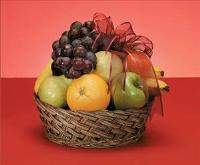 Mixed Fruit Basket by Cremation Funeral Flowers.com