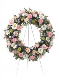 Lasting Kindness Wreath by Cremation Funeral Flowers.com