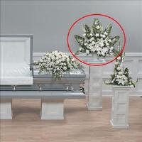 Beyond this World Arrangement by Cremation Funeral Flowers.com