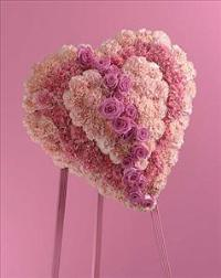 Broken Heart by Cremation Funeral Flowers.com