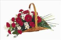 Basket Of Comfort by Cremation Funeral Flowers.com