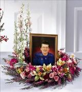 Fare Thee Well Wreath by Cremation Funeral Flowers.com