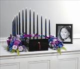 Candle Arch Memorial by Cremation Funeral Flowers.com